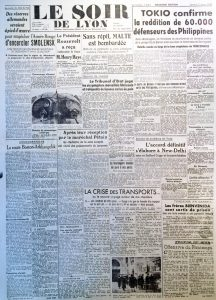 Le Soir de Lyon n°648 11 avril 1942