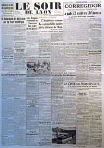 Le Soir de Lyon n°650 14 avril 1942