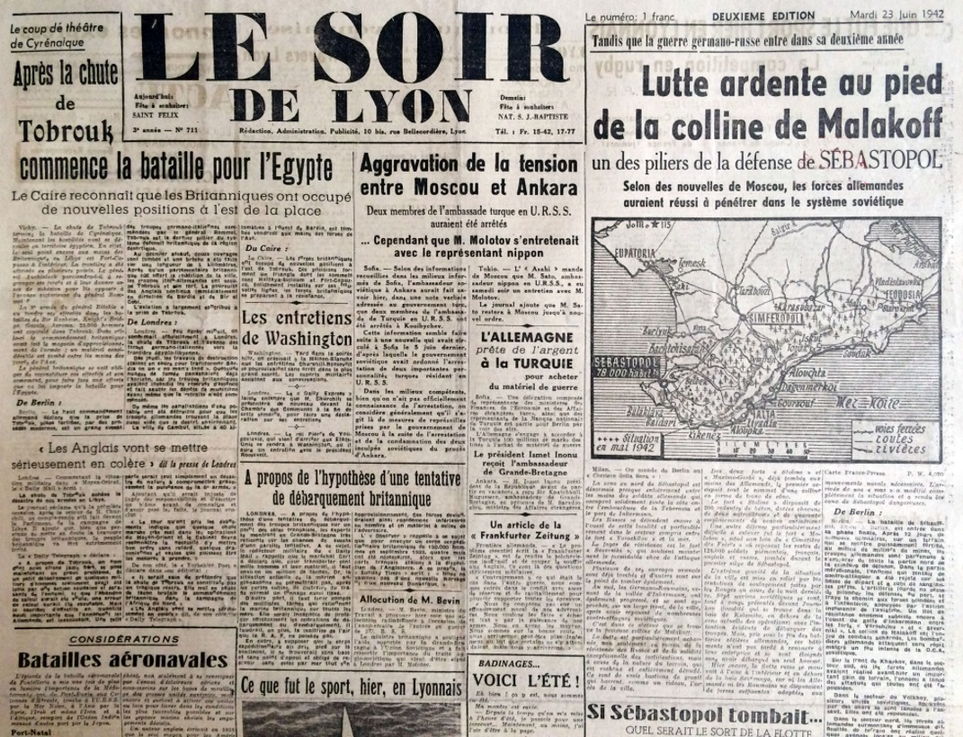 Le Soir de Lyon n°711