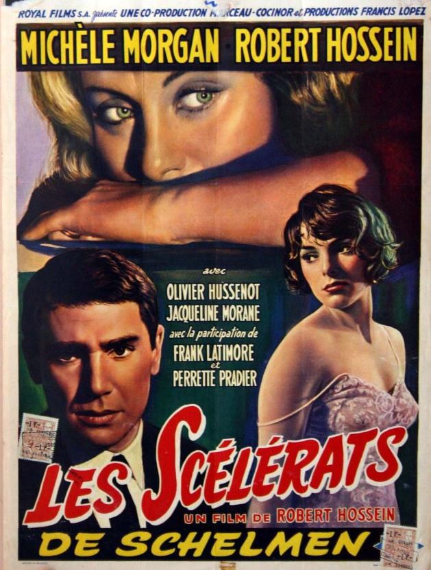 Les scélérats affiche belge