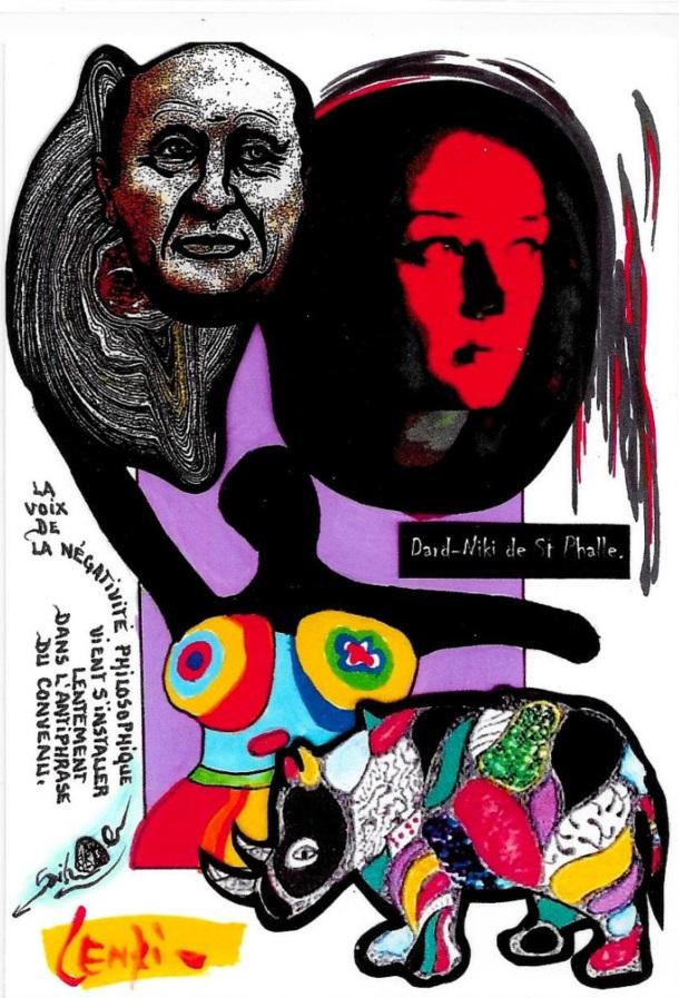 NIKI de Saint Phalle tirage signé numéroté en 30 exemplaires JIHEL LENZI