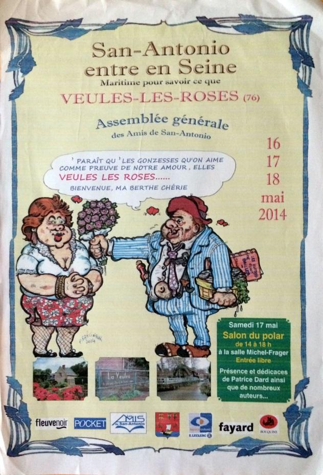 Affiche AG Veules les Roses