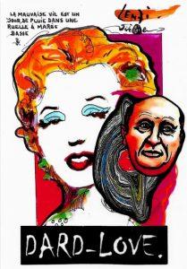 CPM Jihel LENZI DARD Marilyn MONROE dard love 6