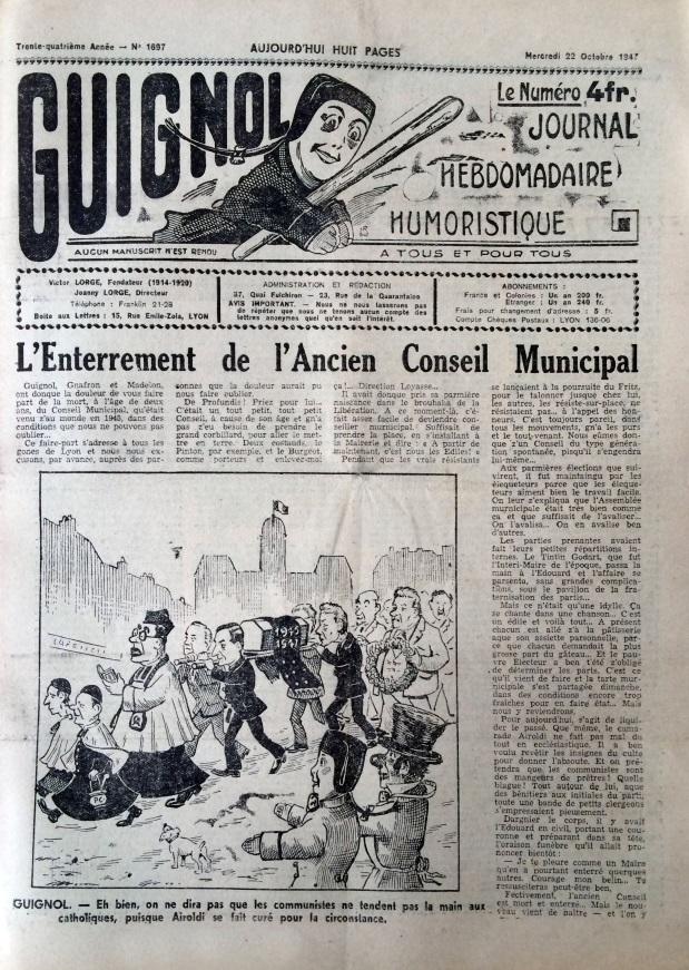Guignol 22 octobre 1947