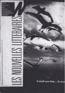 Les nouvelles littéraires aout 1986