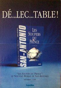 Publicité les soupers du prince