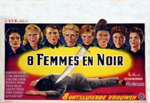 huit femmes en noir