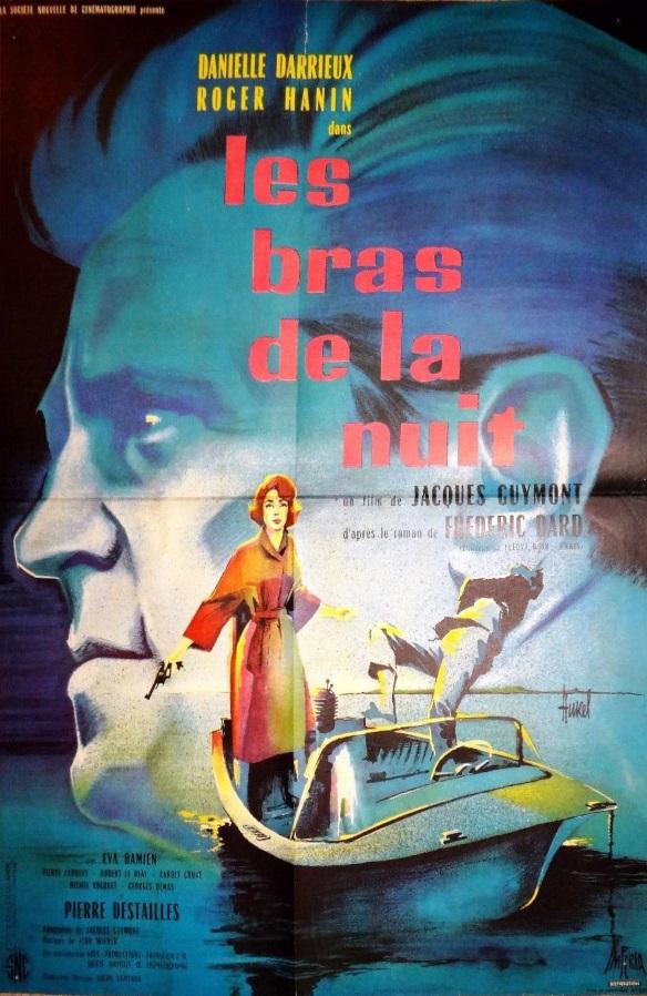 les bras de la nuit. affiche française