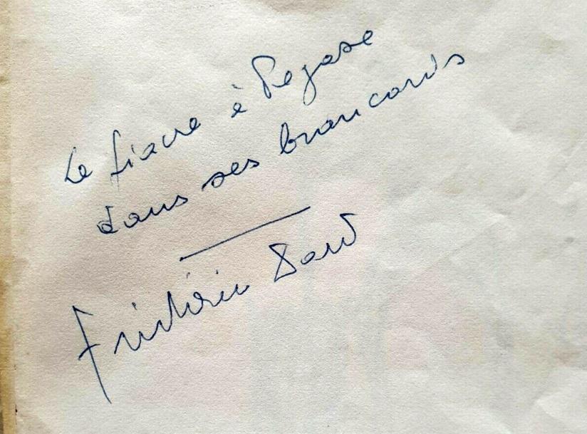 Autographe F Dard Le Fiacre