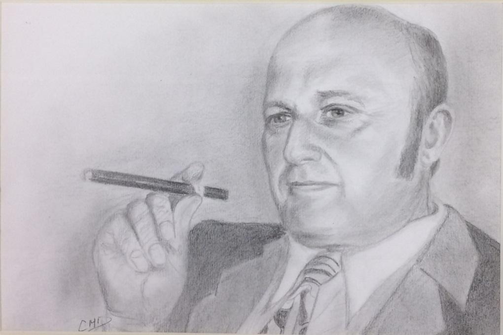 Portrait Frédéric Dard
