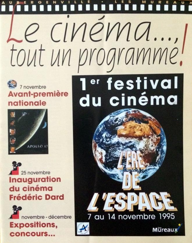plaquette Cinéma Les Mureaux