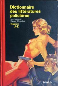 Dictionnaire des littératures policières vol 2 2003