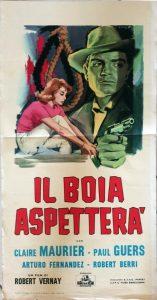 Affiche italienne le bourreau attendra 33 sur 66