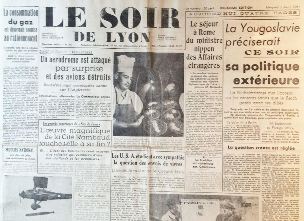 Le Soir de Lyon n°303