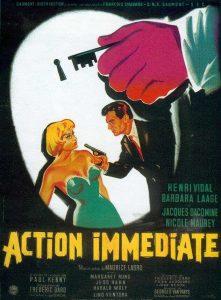 affiche action immédiate 120 sur 160