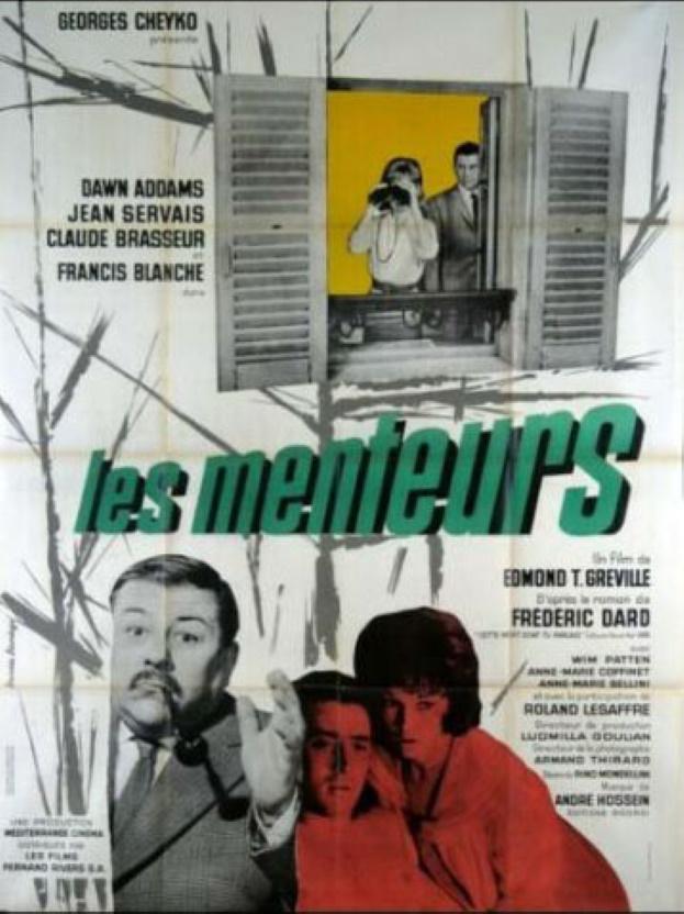 Affiche française les menteurs 120 sur 160