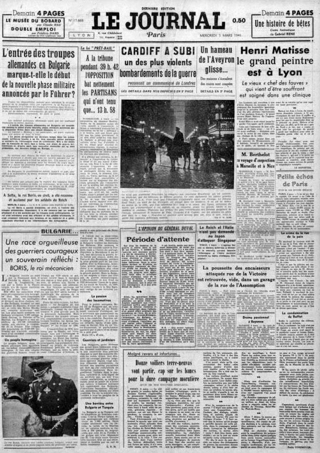 Le Journal 17668 5 mars 1941