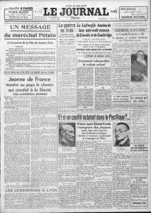 Le Journal 17733 11 mai 1941