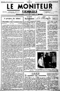 Le Moniteur Viennois 7 février 1942