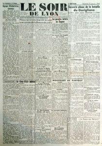 Le soir de lyon 21 janvier 1944