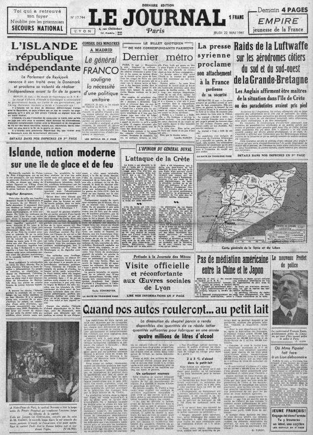 Le Journal 17744 - 22 mai 1941