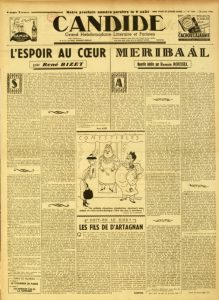 Candide n°1044 26 juillet 1944