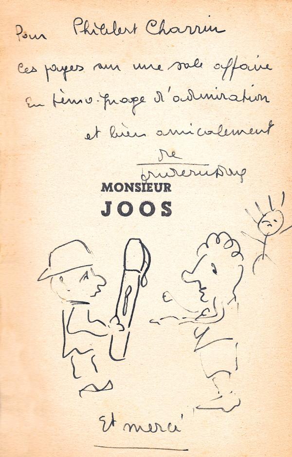 Dedicace Charrin Monsieur-Joos-dedi-1941