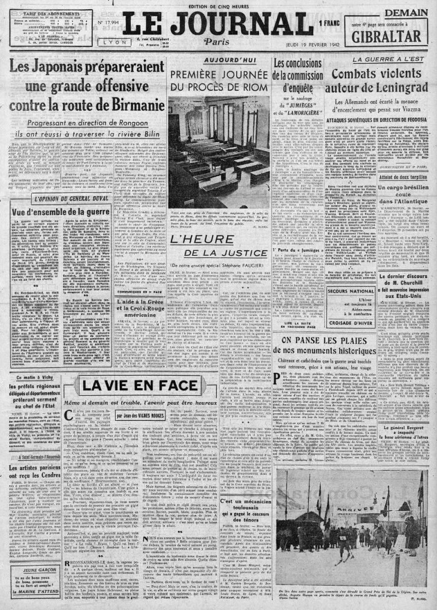Le Journal 17994-19 fev 1942