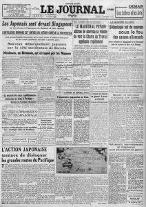 Le Journal 2 fevrier 1942