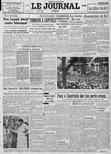 Le Journal 22 juin 1942