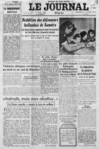 Le Journal n°18022 25 mars 1942