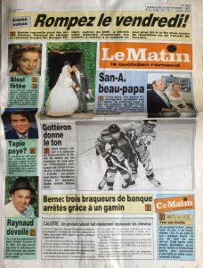 Le Matin 19 septembre 1993
