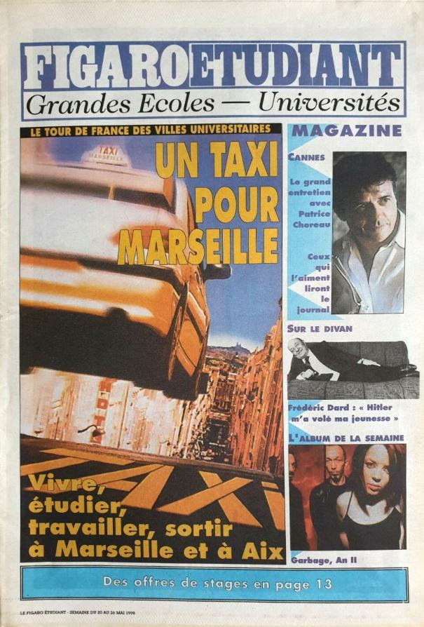 Le figaro értudiant 20 mai 1998