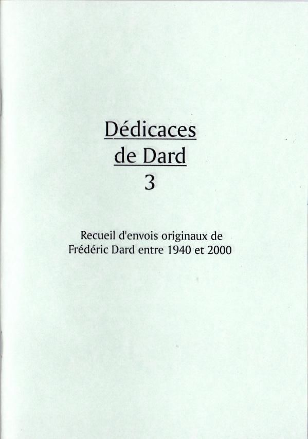 Dédicaces de Dard 3
