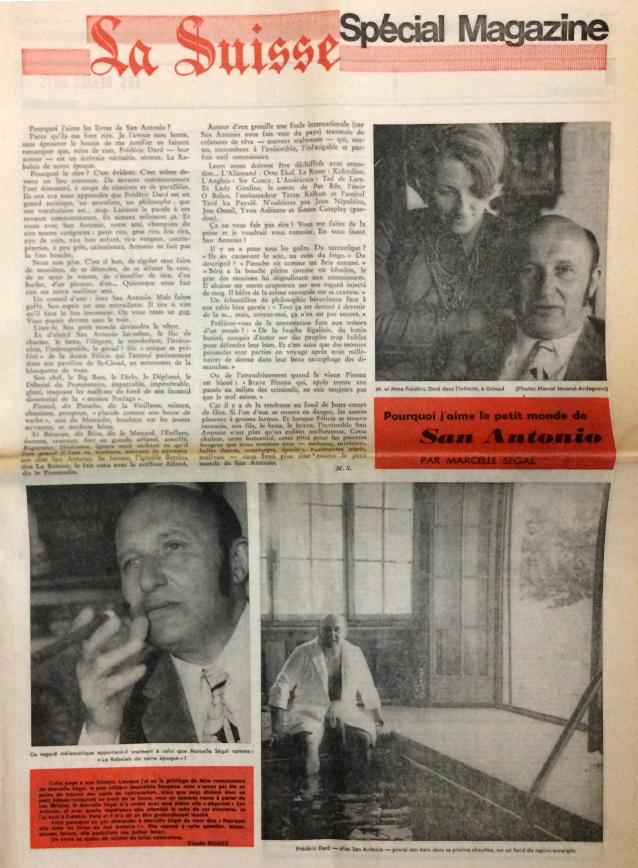 La Suisse15 mars 1979