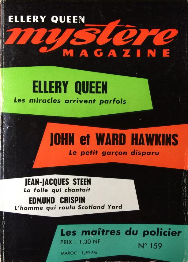 Mystère Magazine n°159