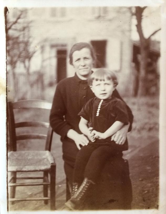 Photo FD et Bonne maman à Aillat