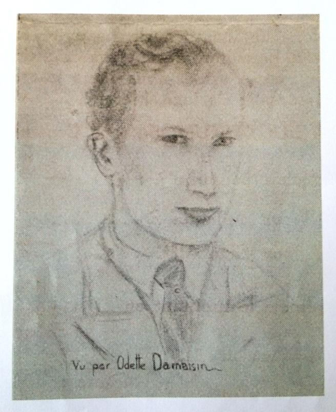 Portrait Frédéric par Odette