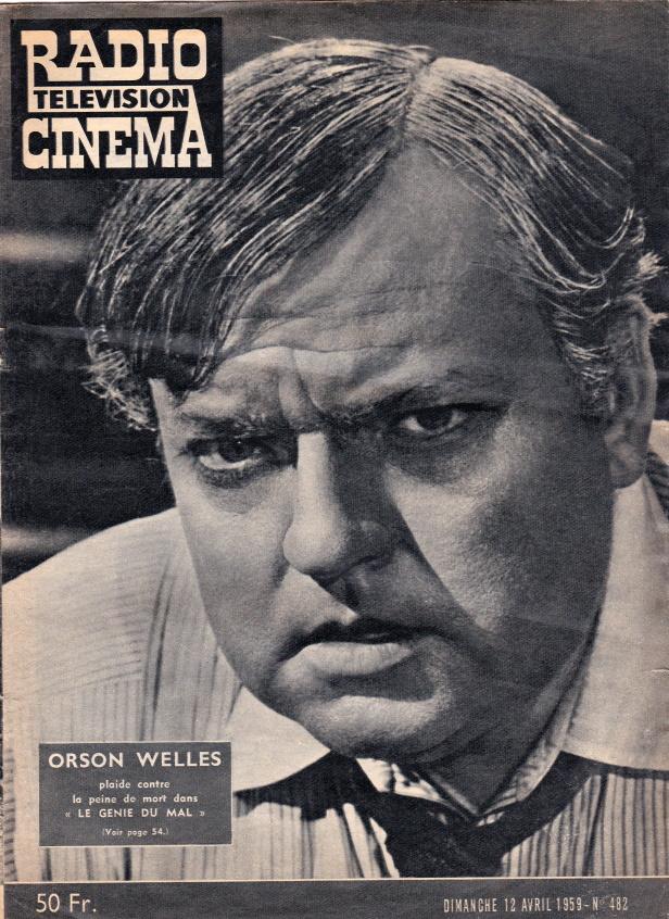 Radio Télévision Cinéma n°482 12 avril 1959