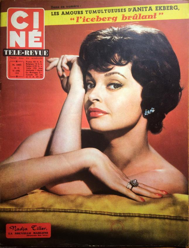 Ciné Télé Revue n°15 10 avril 1959