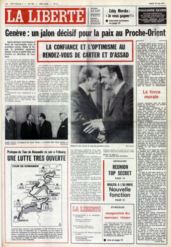 La Liberté 10 mai 1977