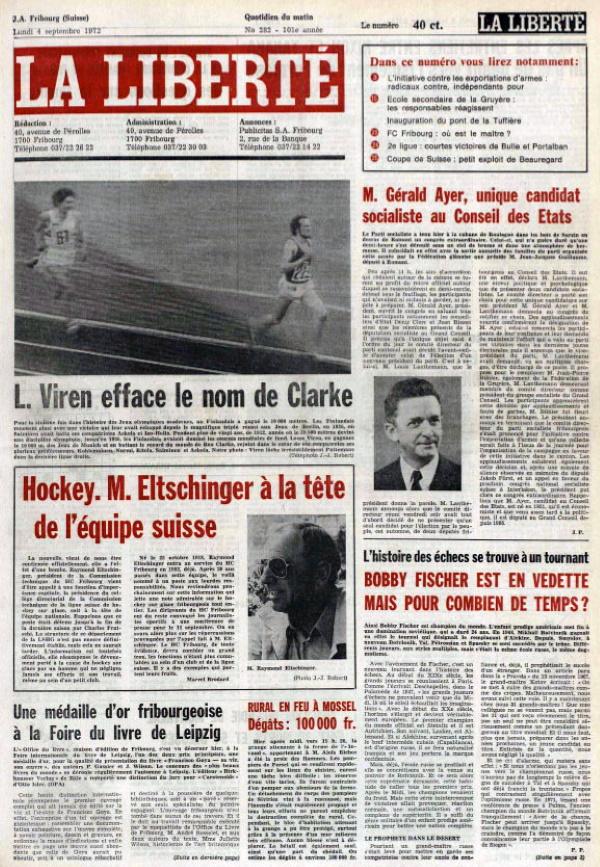 La liberté 4 septembre 1972