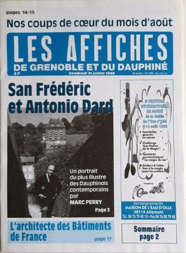Les affiches de Grenoble et du Dauphinén°3856