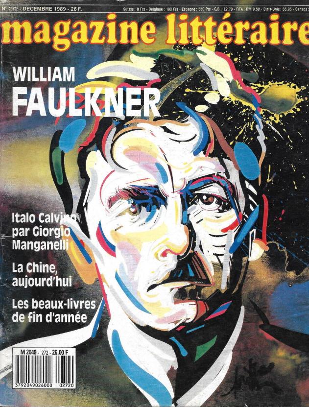 magazine littéraire n°272