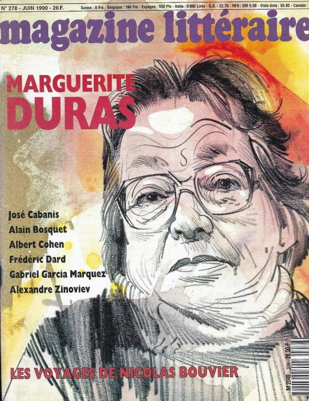 magazine littéraire n°278