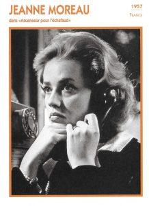 Jeanne Moreau -Ascenseur pour l'échafaud