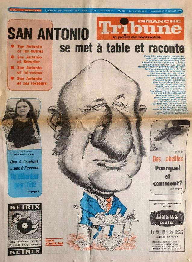 Dimanche tribune n°208 27 juillet 1975