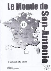 Le Monde de San-Antonio n°24
