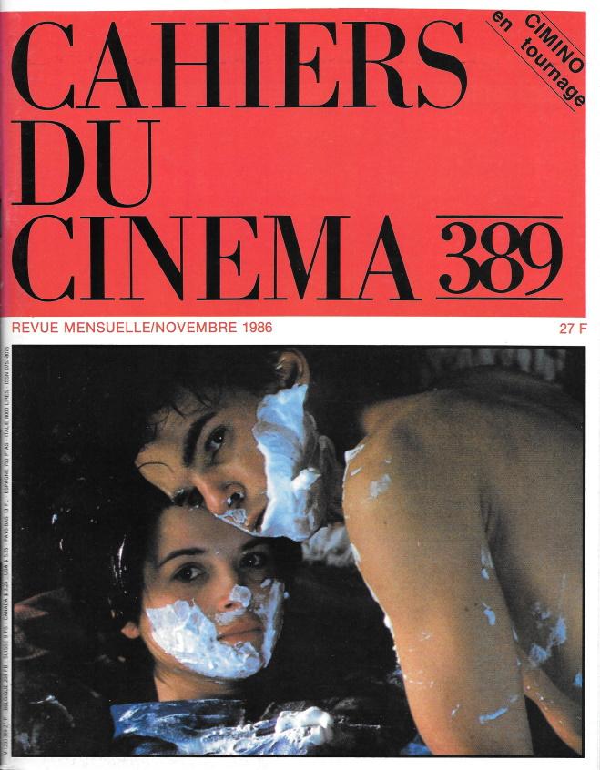 Cahiers du cinéma 389