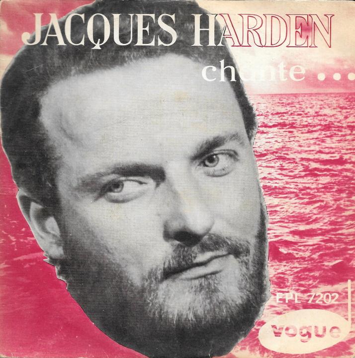 Disque Jacques Harden Bonjour Paris M'sieur la Caille